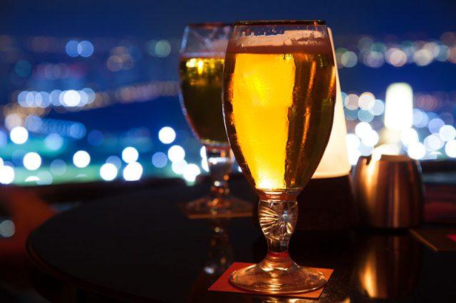 夜景の見える居酒屋